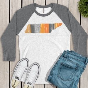 Tennessee State Gray Raglan